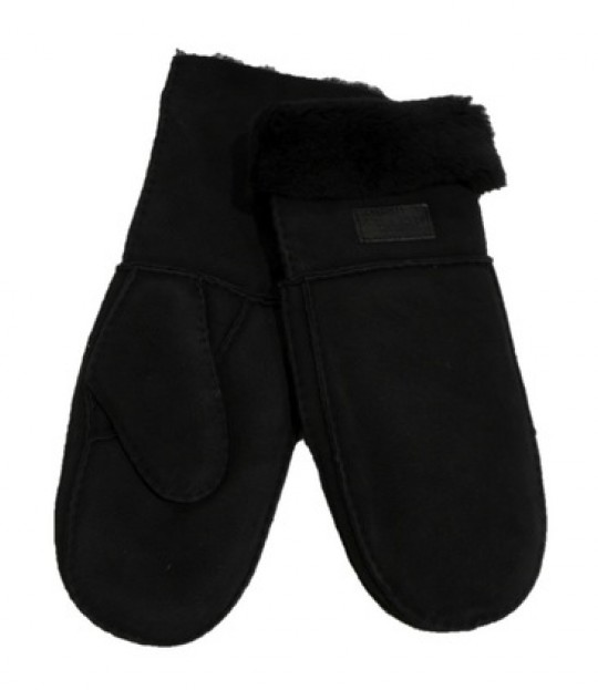 Miss Shearling Black