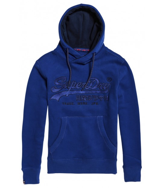 Downhill Racer Applique Hood Blue